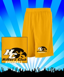 **PRACTICE SHORTS GOLD Design Zoom