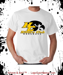 BUSTING T-SHIRT WHITE     *BACK ART* Design Zoom